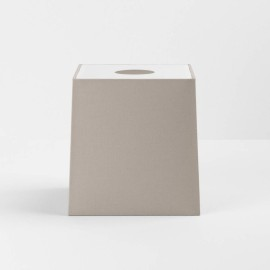 Ravello Tapered Square 175 Putty Shade with diffuser and E27/ES Shade Ring for the Ravello Wall Lamps, Astro 5030006