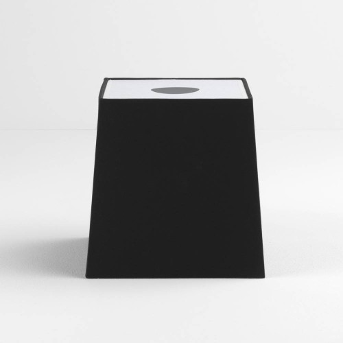 Tapered Square 195 Black Shade with diffuser and E27/ES Shade Ring for the Ravello Table Lamps, Astro 5030007