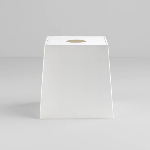 Tapered Square 195 White Shade with diffuser and E27/ES Shade Ring for the Ravello Table Lamps, Astro 5030008
