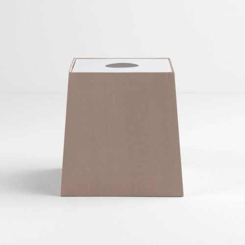 Tapered Square 195 Oyster Shade with diffuser and E27/ES Shade Ring for the Ravello Table Lamps, Astro 5030009
