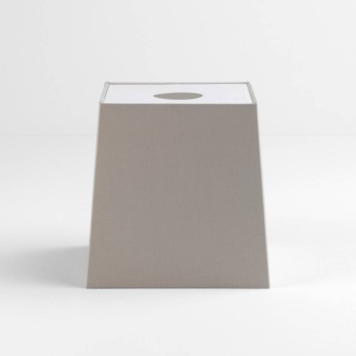 Tapered Square 195 Putty Shade with diffuser and E27/ES Shade Ring for the Ravello Table Lamps, Astro 5030010
