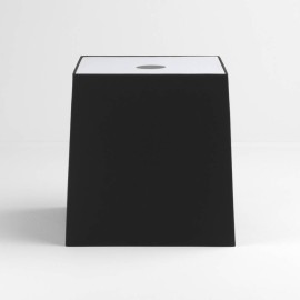 Tapered Square 300 Black Shade with diffuser and E27/ES Shade Ring for the Ravello Floor Lamps, Astro 5030011