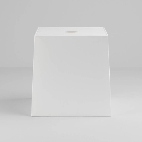 Tapered Square 300 White Shade with diffuser and E27/ES Shade Ring for the Ravello Floor Lamps, Astro 5030012