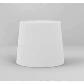 Cone 180 White Fabric Shade with E27/ES Ring for Side by Side Wall Lamp, Astro 5018035