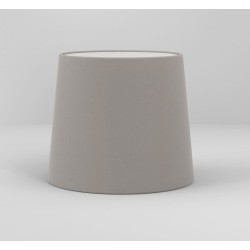 Cone 180 Putty Fabric Shade with E27/ES Ring for Side by Side Wall Lamp, Astro 5018037