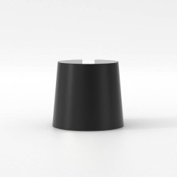 Cone 105 Matt Black Shade for Astro Lighting Miura Lamps, 93mm height x 105mm Diameter, Astro 5018052