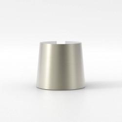 Cone 105 Matt Nickel Shade for Astro Lighting Miura Lamps, 93mm height x 105mm Diameter, Astro 5018053
