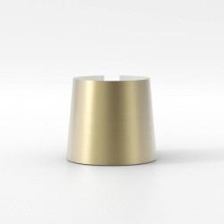 Cone 105 Matt Gold Shade for Astro Lighting Miura Lamps, 93mm height x 105mm Diameter, Astro 5018054