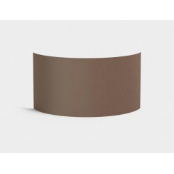 Semi Drum 320 Mocha Shade with E27/ES Shade Ring for the Lima Wall Lights 170 x 320 x 118mm Astro 5029007