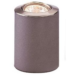 Floodlite Table Light / Floor Lamp in Satin Steel 100mm GU10 max. 50W, Firstlight 5080SS Uplighter