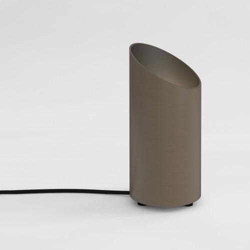 Cut Bronze Floor Uplight using 6W max GU10 LED Lamp, Switched Bronze Floor Lamp Astro 1412003