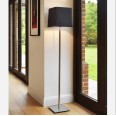 Azumi Floor Lamp in Polished Nickel IP20 using 1 x 12W Max. LED E27/ES (shade not included) Astro 1142020