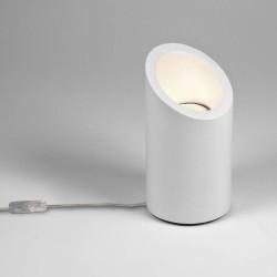 Marasino Plaster Floor Uplight with Switch using 1x6W LED GU10 Lamp IP20 Class 2, Astro 1218001