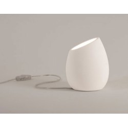 Limina Plaster Table Light / Floor Lamp Switched using 6W max. LED GU10 Paintable, Astro 1221001