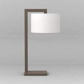 Ravello Bronze Table Lamp using 1 x 12W max. LED E27/ES Switched, Shade not Included, Astro 1222009