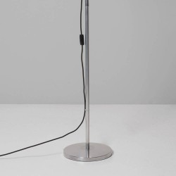 Atelier Floor Base in Polished Aluminium for Atelier Arm Assembly, Astro 1224007 (floor base with 855mm arm)