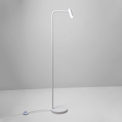 Enna Floor LED Lamp in Matt White 4.5W 2700K 124lm LED Lamp with Switch on the Cord Astro 1058002
