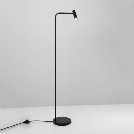 Enna Floor LED Lamp in Matt Black Switched using 4.5W 2700K LED IP20 with 3m Cable, Astro 1058003