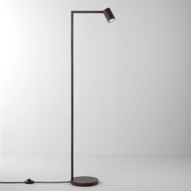 Ascoli Floor Lamp in Bronze IP20 rated 1 x 6W LED GU10 with Switch on Cord, Astro 1286025