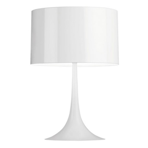 Flos Spun T1 Table Light (White) by Sebastian Wrong