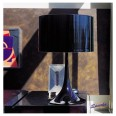 Flos Spun T1 Table Light (Black) by Sebastian Wrong