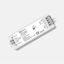 Single Colour RF Receiver / LED Controller 2.4GHz with LED Dimming for LED Striplights, FossLED FLDC1S