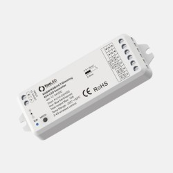 RGB / RGBW / CCT / Dimming RF Wireless Receiver 12-24V DC Input RF 2.4GHz Output, FossLED FLDC4Y