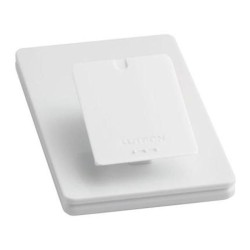 Lutron L-PED1-WH Pico Single Tabletop Pedestal in Gloss White for Pico Wireless