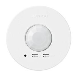 Lutron Wireless Ceiling Occupancy / Vacancy Sensor in White, LRF3-OCR2B-P-WH Radio Powr Savr