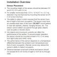 Lutron Wireless Hallway Wall-Mount Occupancy / Vacancy Sensor LRF3-OHLB-P-WH Radio Powr Savr