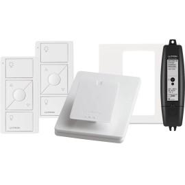 Lutron RRK-KIT-1D RA2 Select Wireless Control Dimmer Kit: 1x Dimmer, 2x Pico controls, 1x Pico Faceplate, 1 x Pico Pedestal