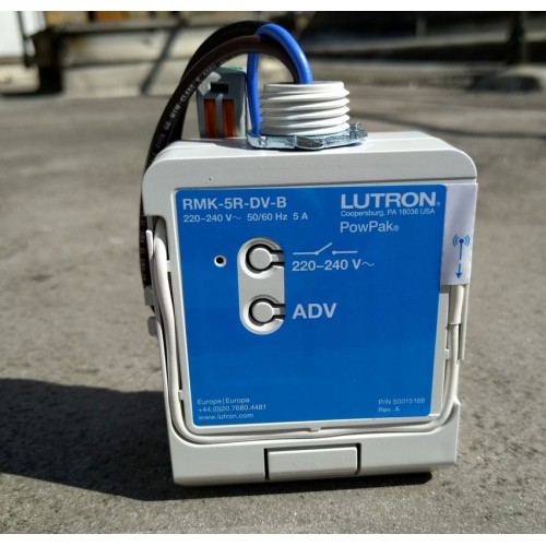 Lutron PowPack 5A Relay Module with Softswitch RMK-5R-DV-B for Pico Wireless Controls