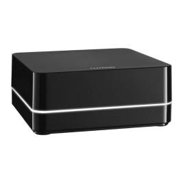 Lutron RA2 Select Wireless Repeater / Hub Range Extender in Black (9m RF range), LK-REPPRO-BL