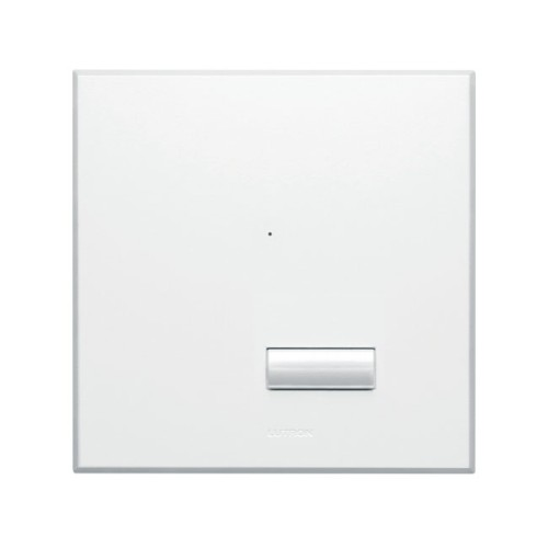 Lutron Rania RF Wireless Switch Frameless Faceplate in Arctic White RS-SA05-B-FAW-M