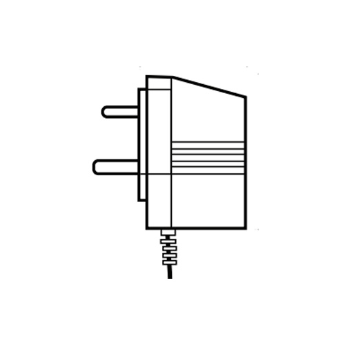 Lutron Plug-in Transformer with 1.8m Lead in White TU240-9DC-3-WH for Tabletop Keypads