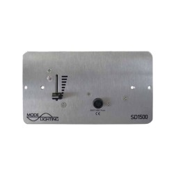 MODE Slider Dimmer 20-1500W (surface mounting) / 1200W (flush mounting) for Leading Edge Mains Dimmable Lighting