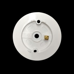 Round Deep backplate with 6 Knockouts and Earth Terminal, Suitable for BG 747 and 748