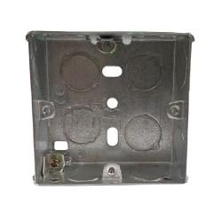 1 Gang 25mm Deep Flush Back Box - Single Gang Flush Box - BG FS25 70 x 70 x 25mm