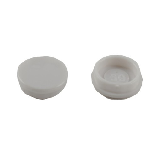 Screw Cap Covers in Ultimate Slimline Moulded (price per 10) Schneider GUMSCO