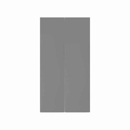 Euro Module Grey Blank 25mm x 50mm, BG EMBLK1G Grey Euro Module