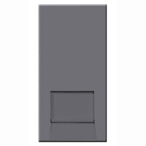 BT Telephone Master Socket (IDC) Euro Module in Grey 25mm x 50mm, BG EMBTMIG
