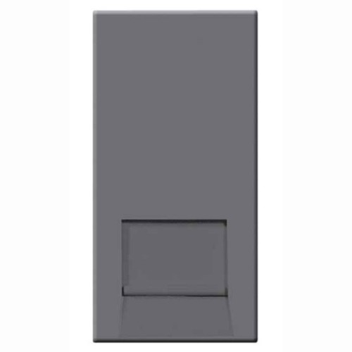 BT Telephone Slave Socket (IDC) Euro Module in Grey 25mm x 50mm, BG EMBTSSG