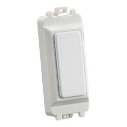 Blank Grid Module in Matt White for Knightsbridge Grid System, 25mm x 56mm x 13mm Knightsbridge GDM013MW