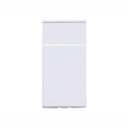 MK K188WHI 1 Euro Module Blank in White Plastic 25 x 50 mm Logic Plus