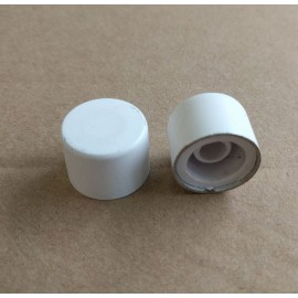 Heritage Brass Primed White Knob for Dimmer Switches, K564.PW Dimmer Knob