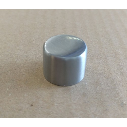 Heritage Brass Satin Chrome Knob for Dimmer Switches, K564.03 Dimmer Knob