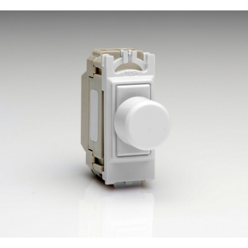 1 Gang 2 Way 6A Push ON/OFF Switch Module - Dummy Dimmer with Switching Function for 1 Grid Space