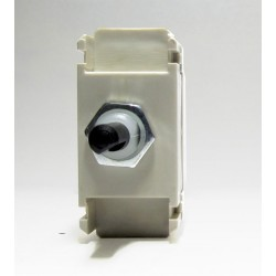 Intermediate Push On/Off Switch Module (Dummy Dimmer) 6A, Non-Dimming Replacement for Dimmer Modules