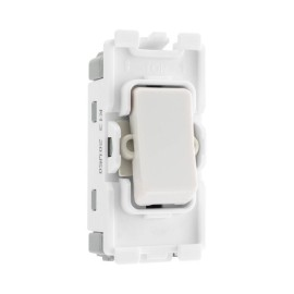 Nexus Grid 20A 20AX 1 Gang Intermediate Module Single Pole in White for Nexus Grid System, BG Nexus R13