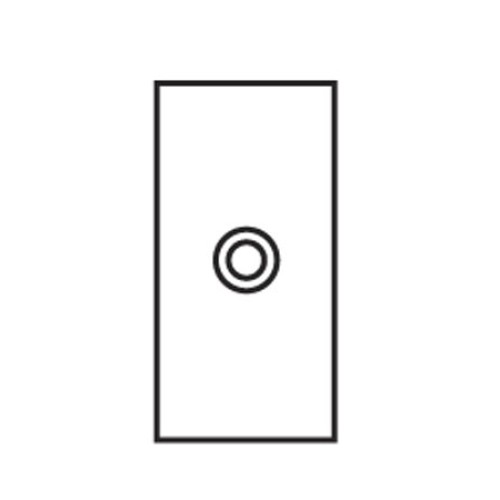 1 Gang Architrave Momentary Switch Invisible Plate with Stainless Steel Button, Single Button Dimmer Controller